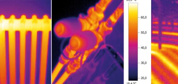 Cámara termográfica Instalaciones Boro