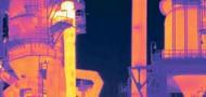 Cámara termografica instalaciones boro