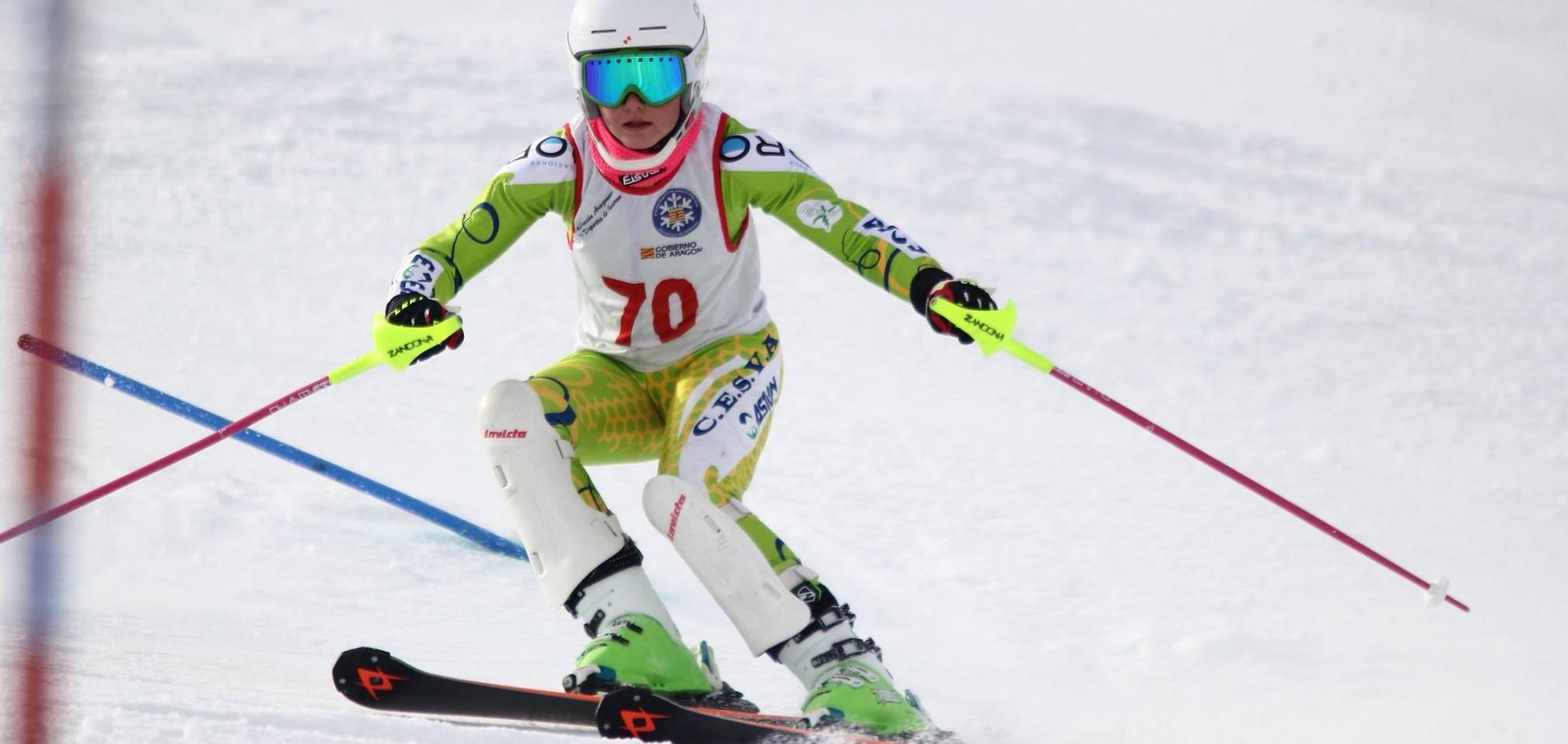 Club de Ski Cesva, patrocinado por instalaciones Boro